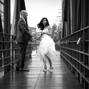 Hochzeitsfoto / Speicherstadt Hamburg