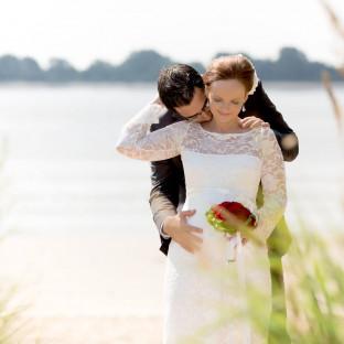 Hochzeitsfoto / Wedel an der Elbe