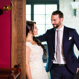 Ambientfoto Hochzeitspaar in Location