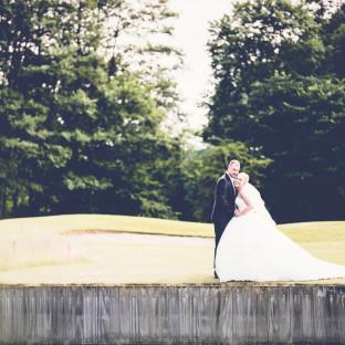 Traumhaftes Hochzeitsfoto