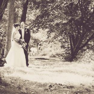 Hochzeitsfoto Sepia in Hamburg